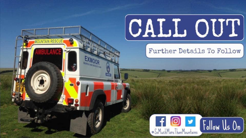 Assisting Exmoor Search & Rescue in North Devon