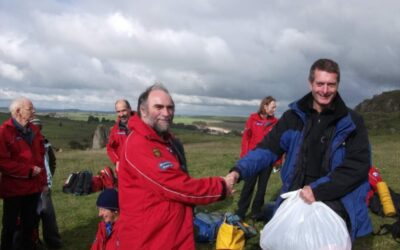 Congratulations Tim on 10 Years with Mountain Rescue